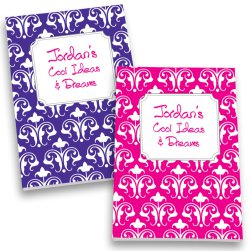 Fleur de Lis Personalized Journal Set