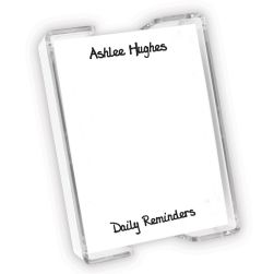 Eves Agenda - White with holder