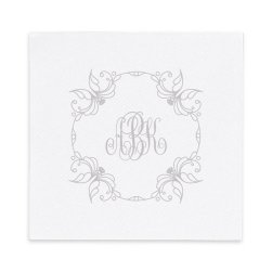 Lily Monogram Luxury Airlaid Napkin - Foil-Pressed