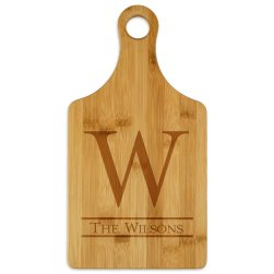 Newton Paddle Cutting Board - Engraved