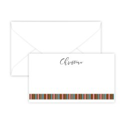 Mary Stripes Enclosure Card - Digital Print