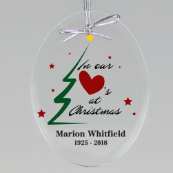 Christmas Memories Keepsake Ornament - Oval