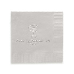 Cocktail Napkin - Embossed