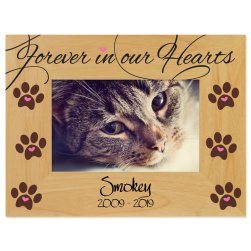 Forever in our Hearts Printed Picture Frame