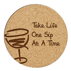 Wine Cork Coaster