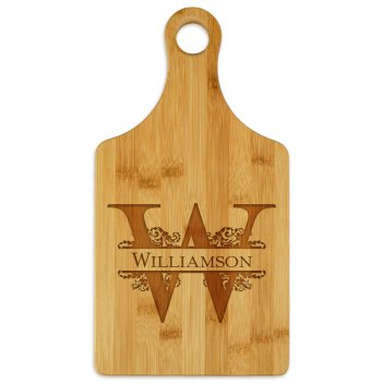 Forever Paddle Cutting Board - Engraved