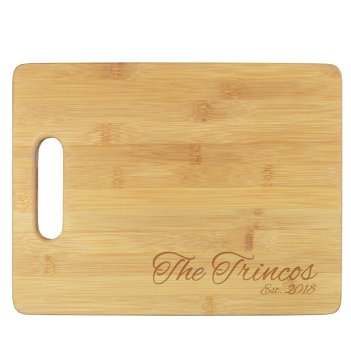 Dynasty Cutting Board - Engraved