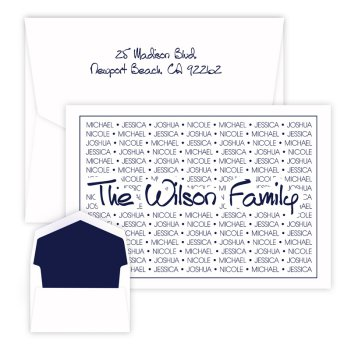 Anthony Family Pride Oversized Note - Raised Ink