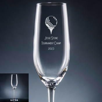 Athlete Champagne Flute