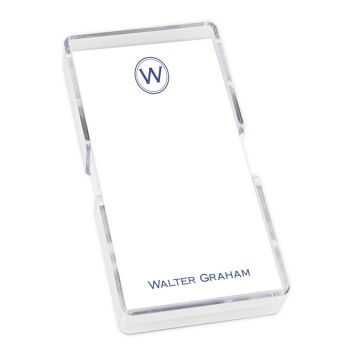 Crest Mini List - White with holder
