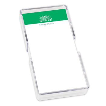 Garden Mini List - White with holder