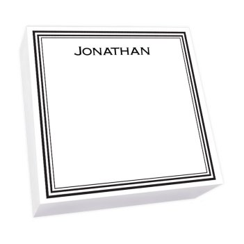 Colonial Memo Square - White Refill