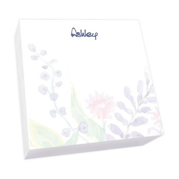 Tranquil Dreams Memo Square - White Refill