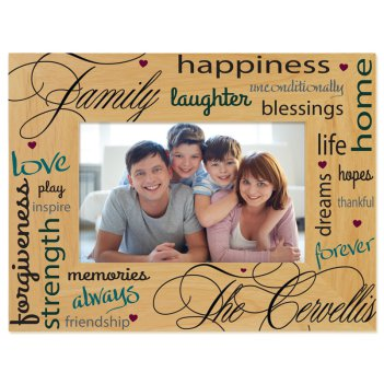 Unconditional Love Printed Picture Frame
